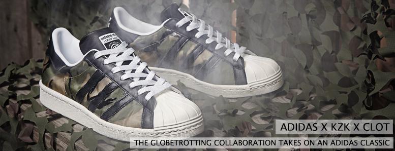 Adidas x KZK x Clot Superstar