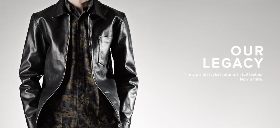 Our Legacy Leather
