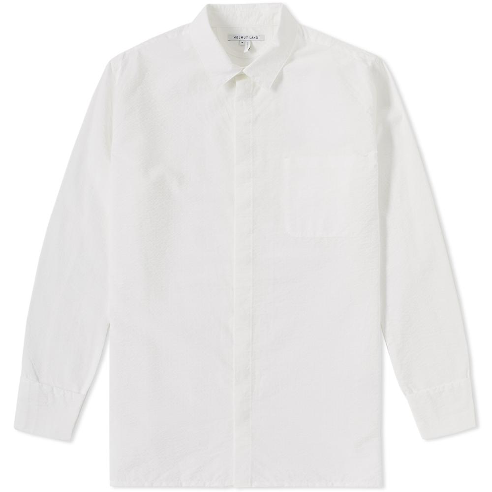 Helmut Lang Folded Cuff Shirt