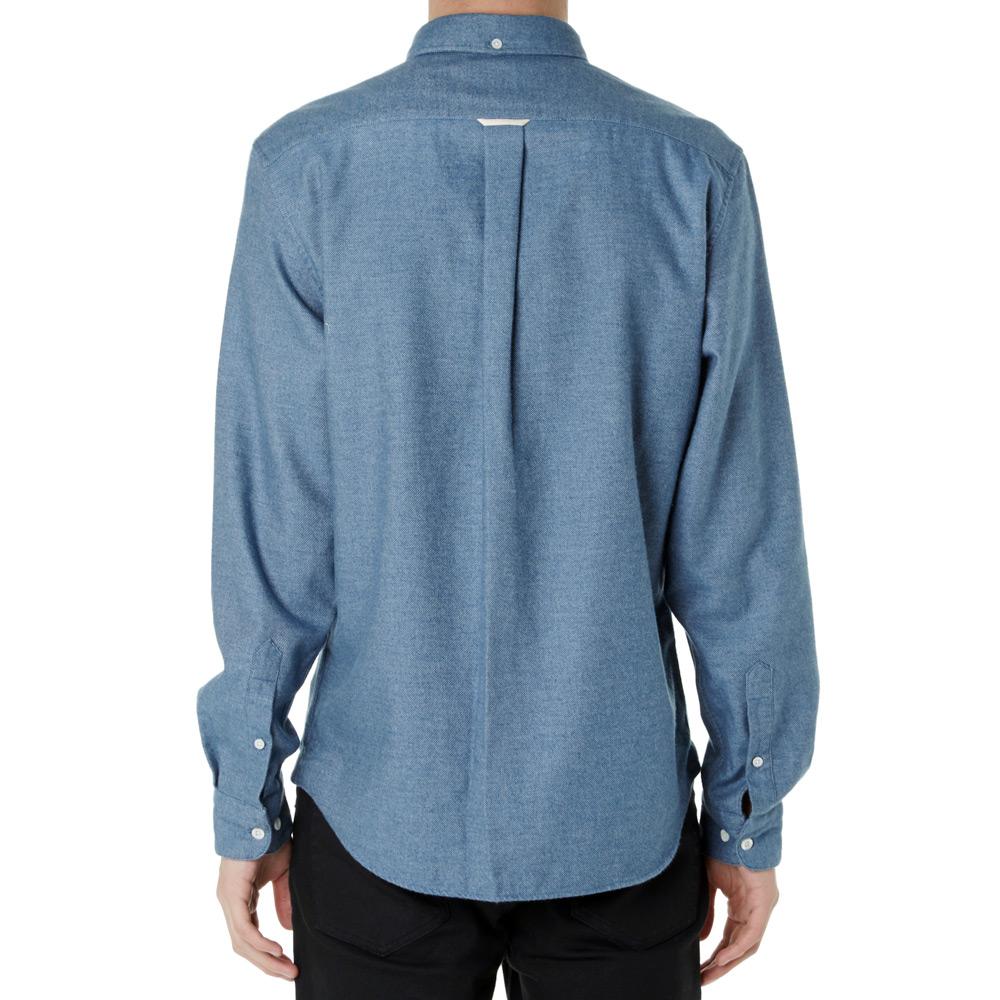 Acne Studios Isherwood Flannel Shirt Light Blue