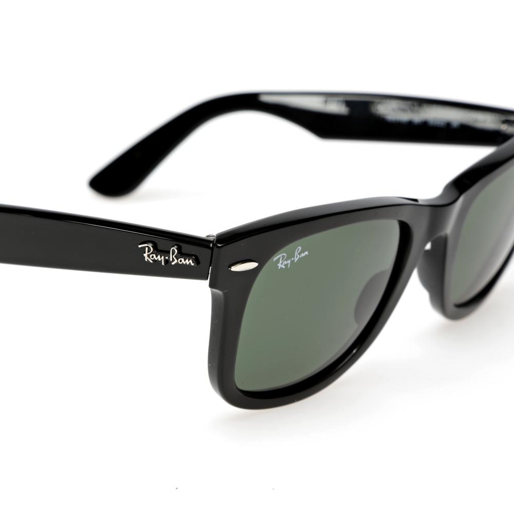 Ray ban new wayfarer sunglasses black for Ray ban wayfarer verre miroir
