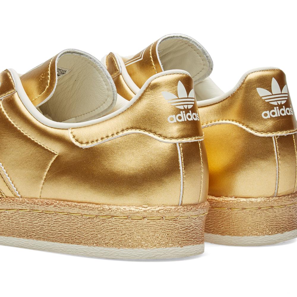 Adidas Superstar Metallic Gold