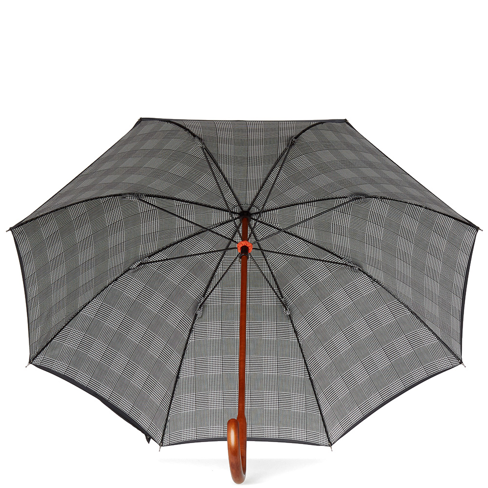 london undercover classic double layer umbrella black prince of wales. Black Bedroom Furniture Sets. Home Design Ideas