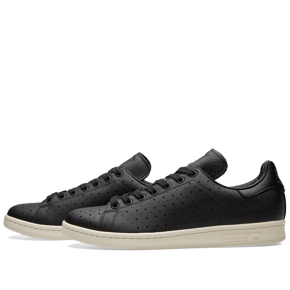 adidas stan smith perforated black. Black Bedroom Furniture Sets. Home Design Ideas