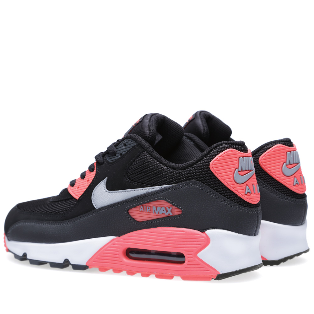 nike air max 90 essential black wolf grey. Black Bedroom Furniture Sets. Home Design Ideas
