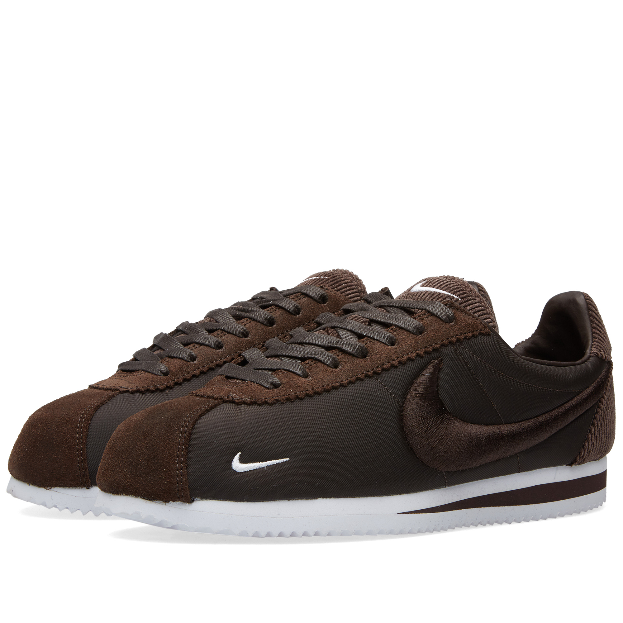 nike classic cortez sp classic brown white. Black Bedroom Furniture Sets. Home Design Ideas