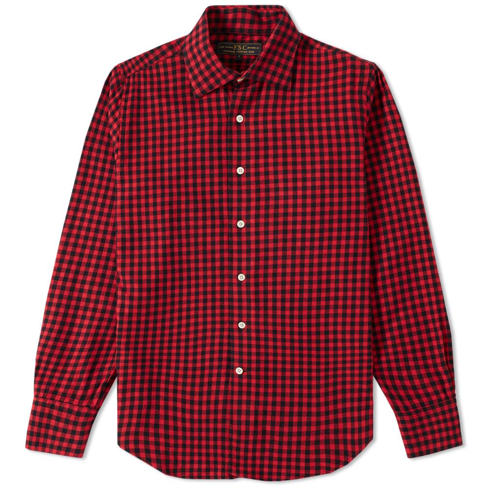 Freemans Sporting Club Hopkins Flannel Shirt
