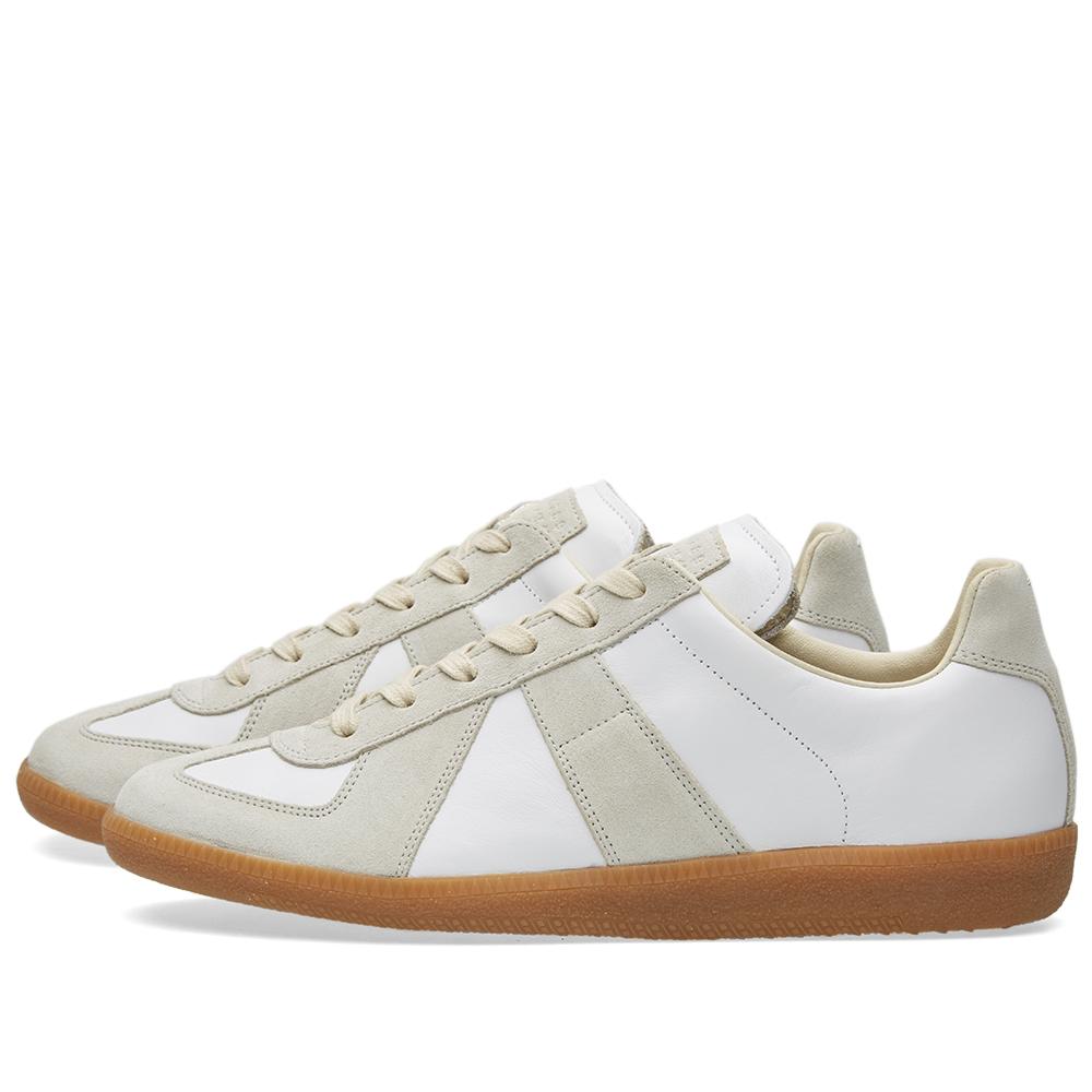 Maison margiela 22 replica low sneaker white for Maison margiela 22