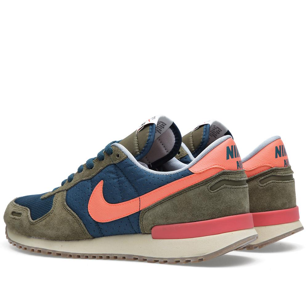 nike air vortex vintage mid turquoise total crimson. Black Bedroom Furniture Sets. Home Design Ideas