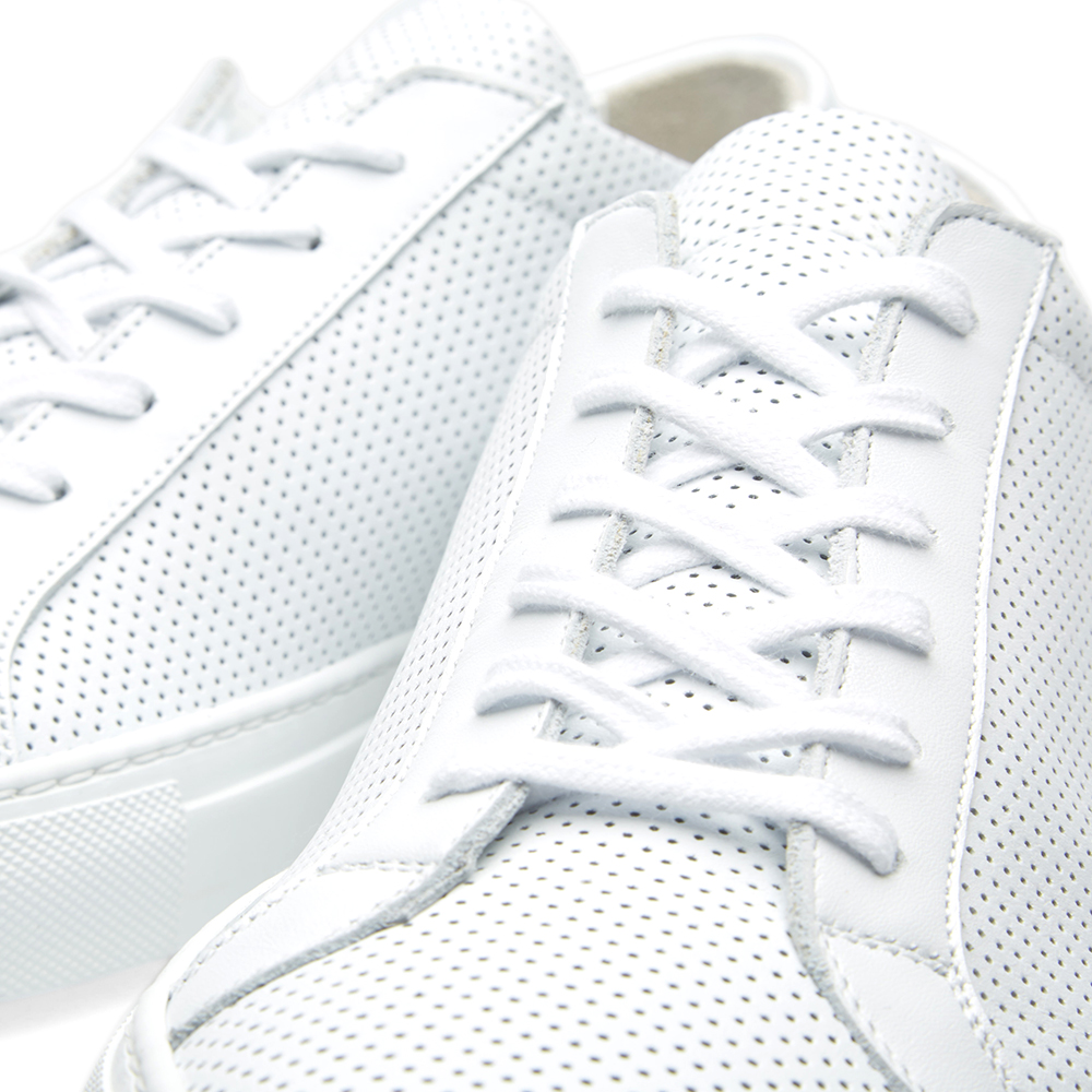common projects achilles low perforated white. Black Bedroom Furniture Sets. Home Design Ideas