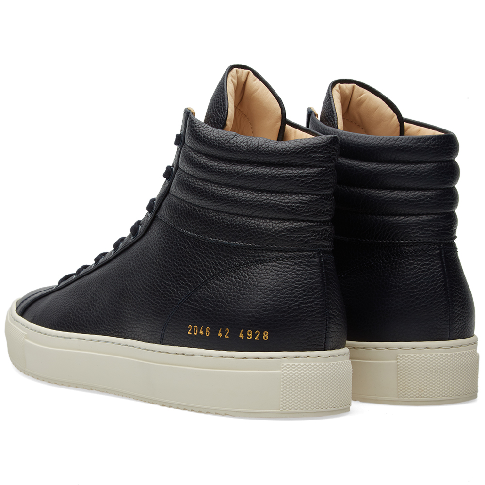 common projects achilles high premium navy full grain. Black Bedroom Furniture Sets. Home Design Ideas
