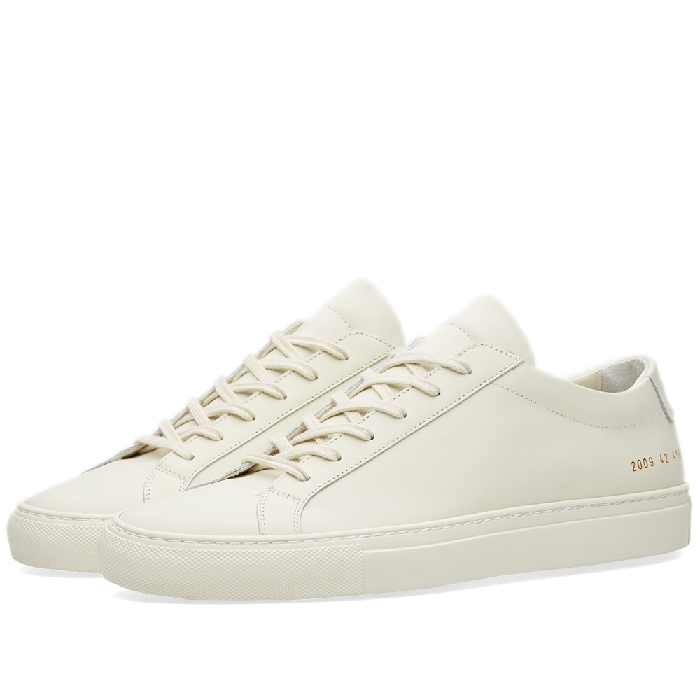 common projects achilles low gummy off white. Black Bedroom Furniture Sets. Home Design Ideas