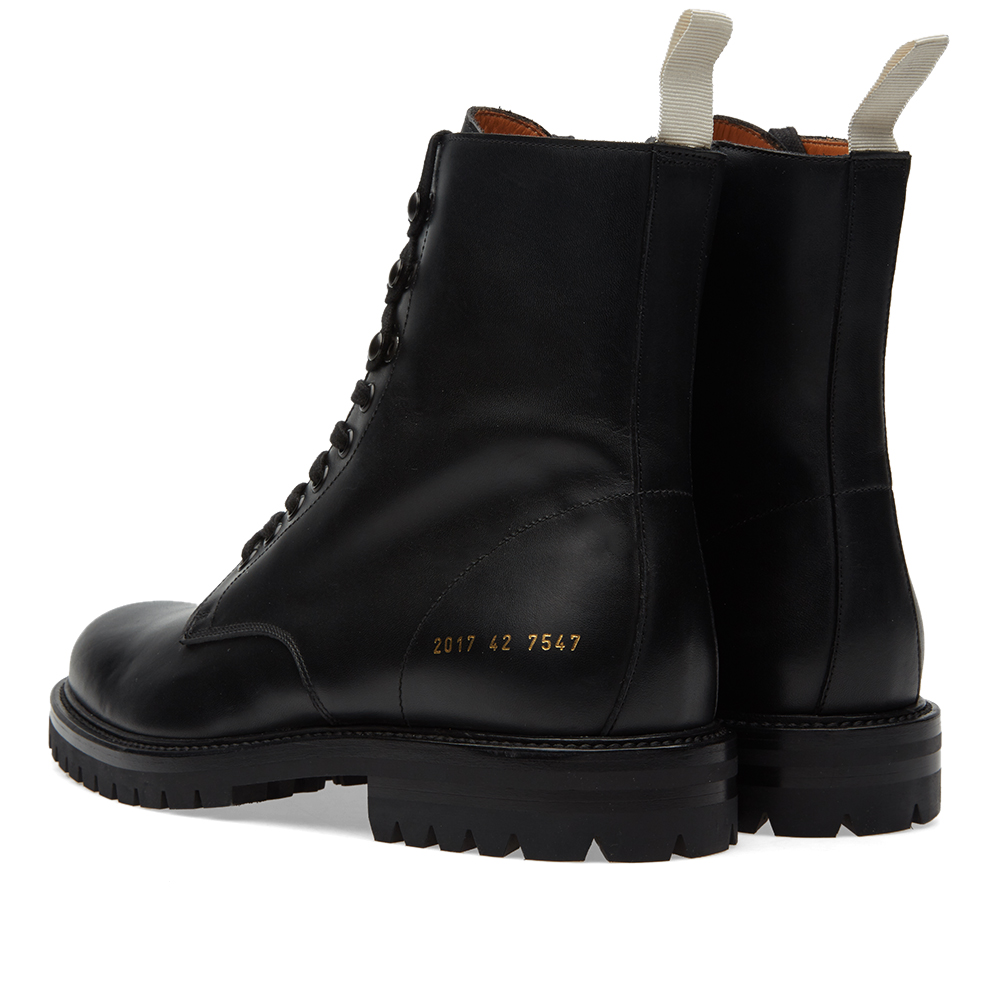 Common Projects Winter Combat Boot (Black)