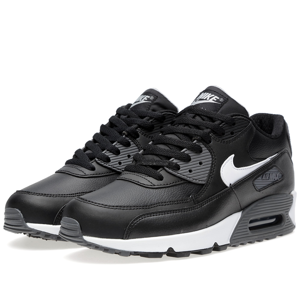 nike air max 90 essential black white dark grey. Black Bedroom Furniture Sets. Home Design Ideas