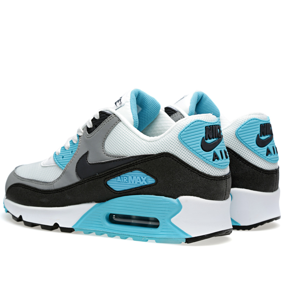 nike air max 90 essential summit white dark charcoal. Black Bedroom Furniture Sets. Home Design Ideas