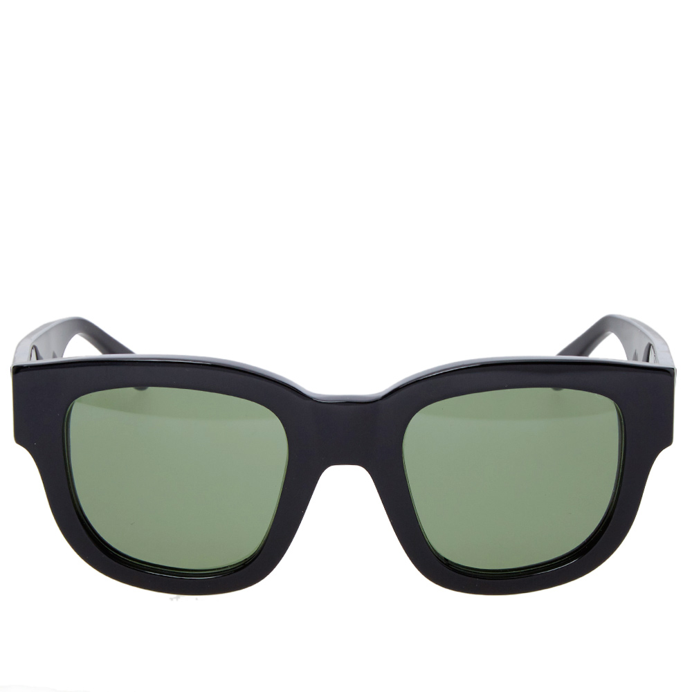 Eyeglass Frame In Saudi Arabia : Acne Studios Frame A Sunglasses (Black & Green)