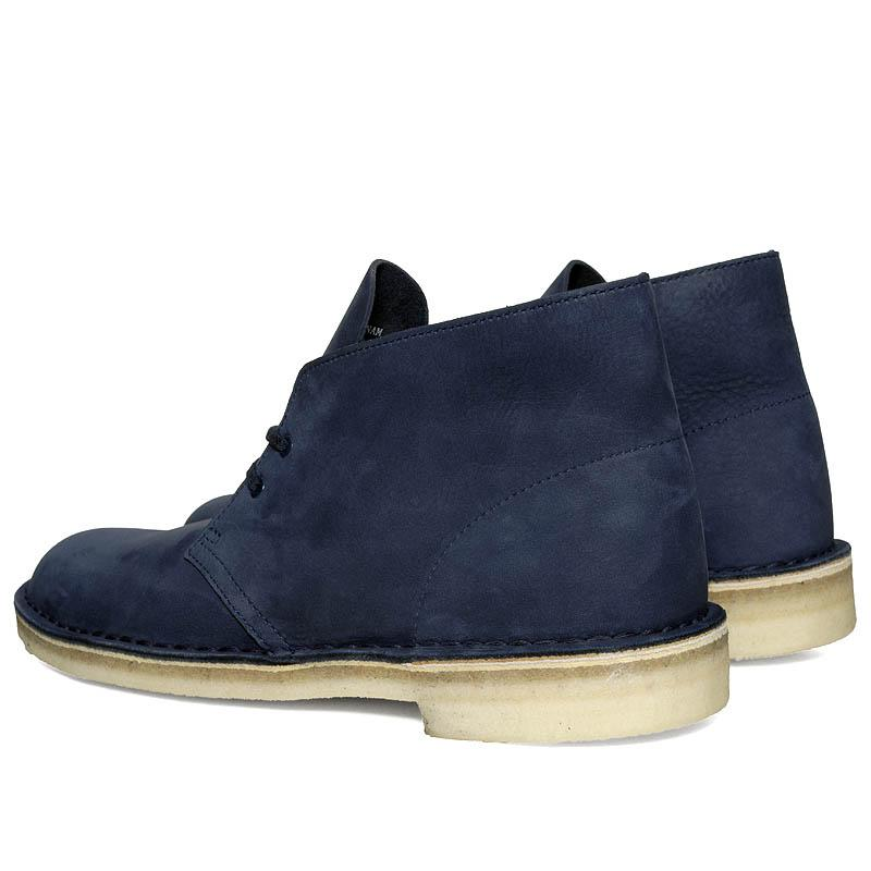 clarks originals desert boot denim blue nubuck. Black Bedroom Furniture Sets. Home Design Ideas