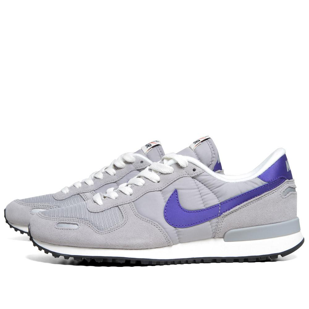 nike air vortex retro matte silver ultramarine. Black Bedroom Furniture Sets. Home Design Ideas