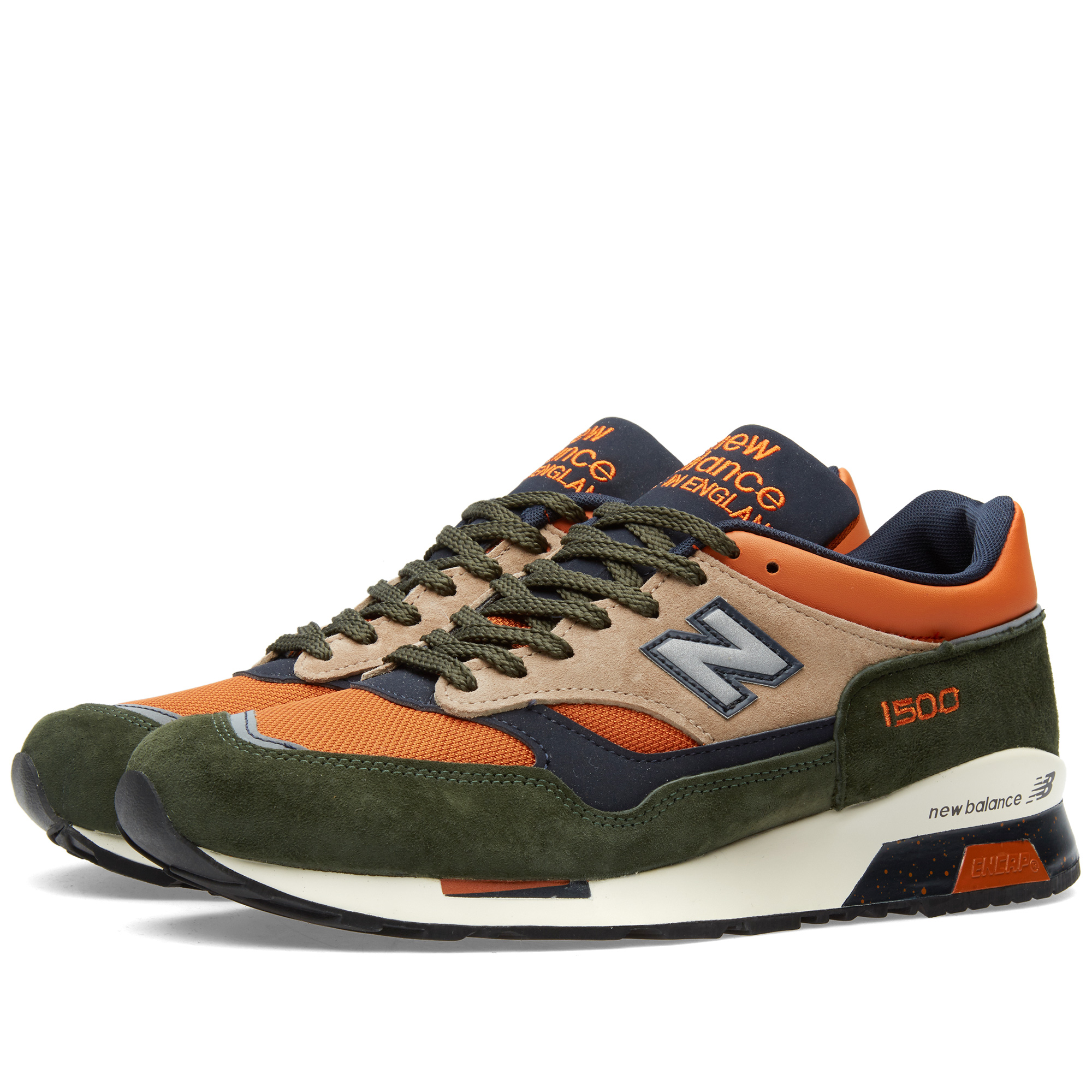 new balance green orange