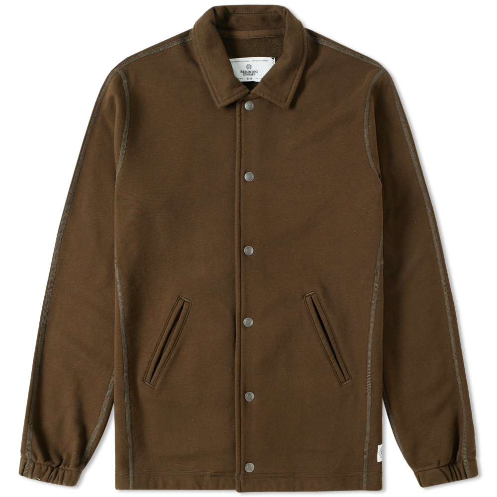 Reigning champ coach jacket olive for Coach jacket