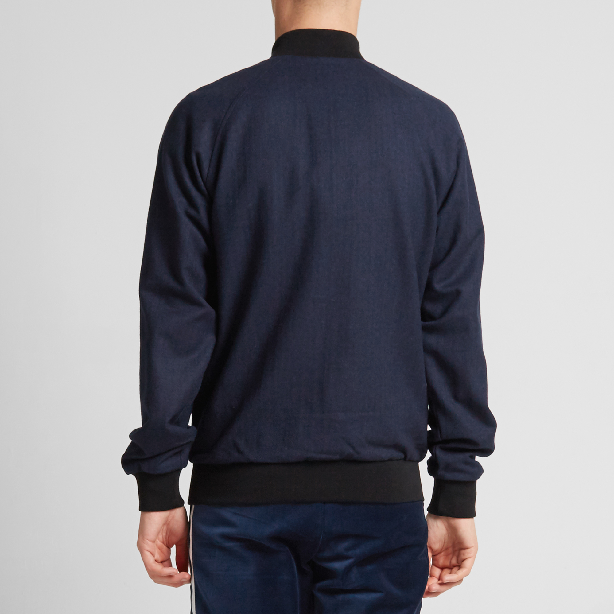 navy adidas jacket