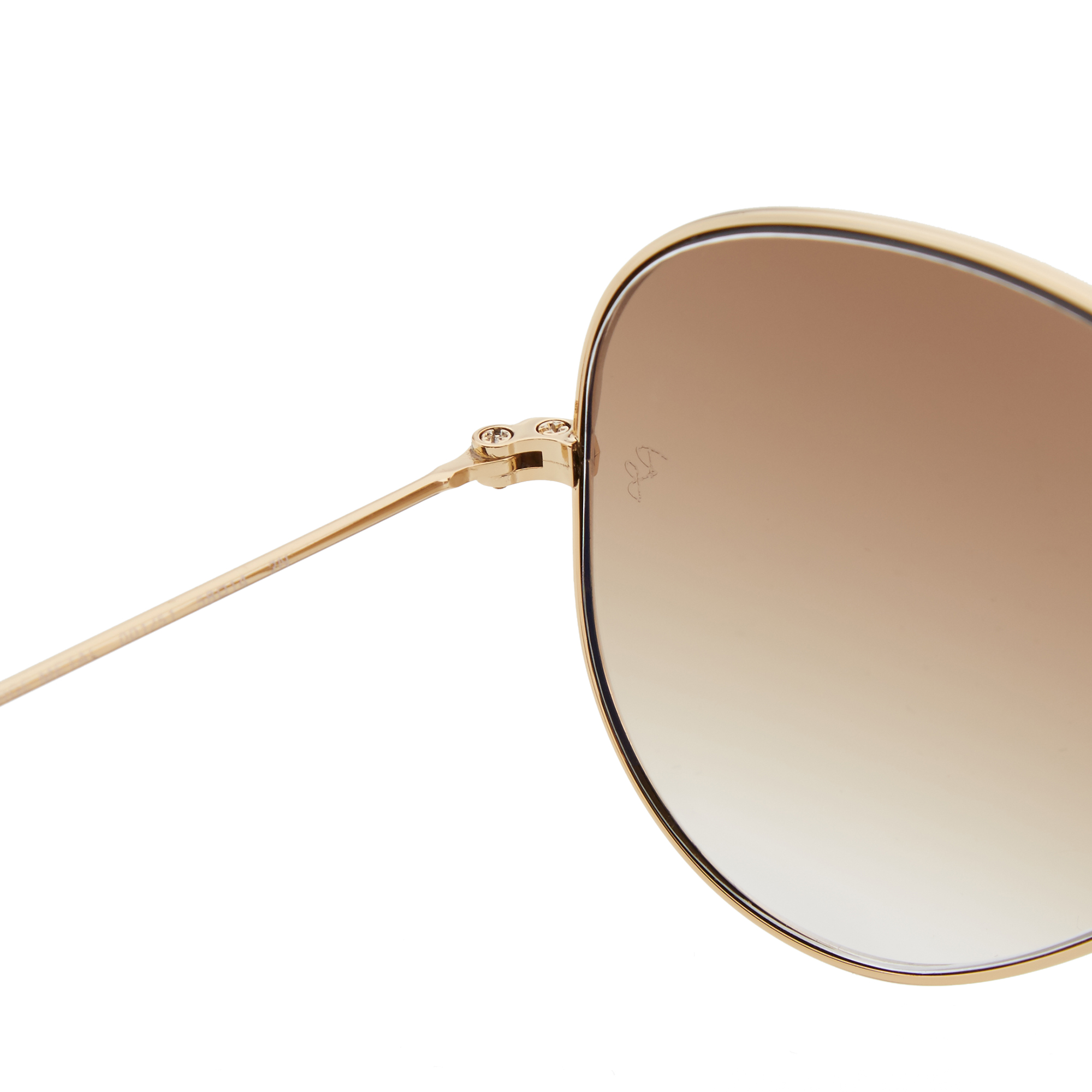 price ray ban aviator  Ray Ban Aviator Sunglasses (Gold \u0026 Crystal Brown Gradient)