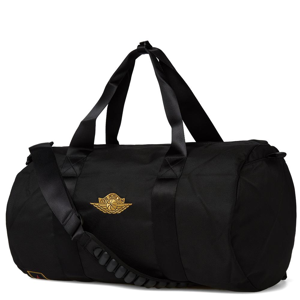 nike air x ovo duffel bag black metallic gold