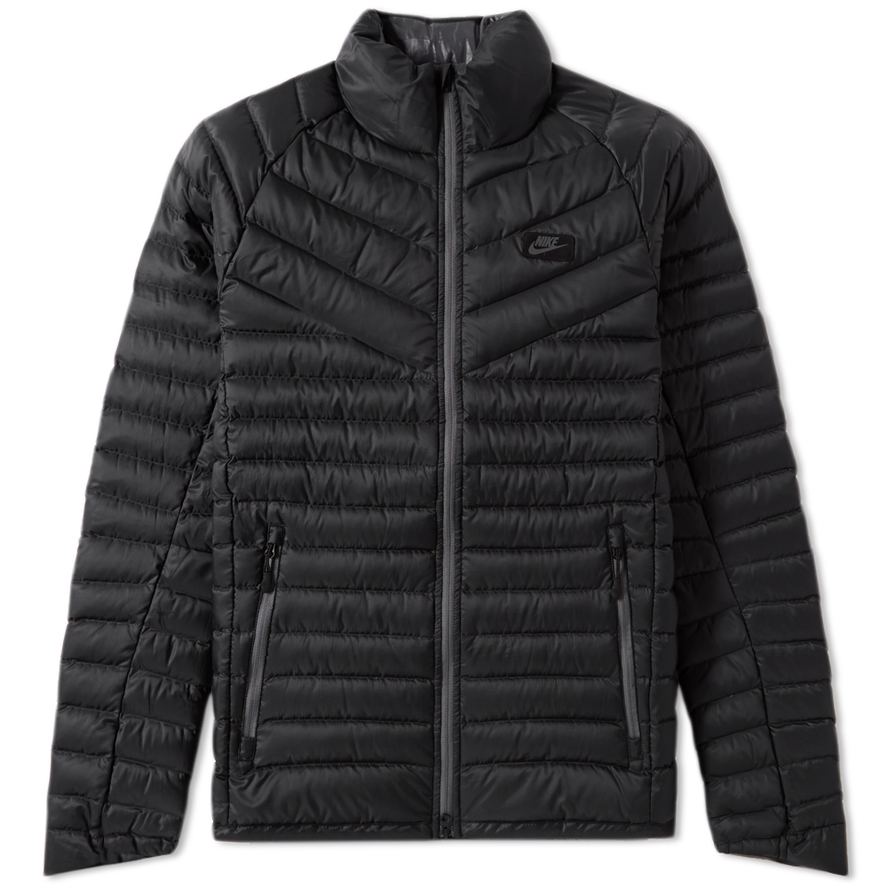 nike black puffer jacket