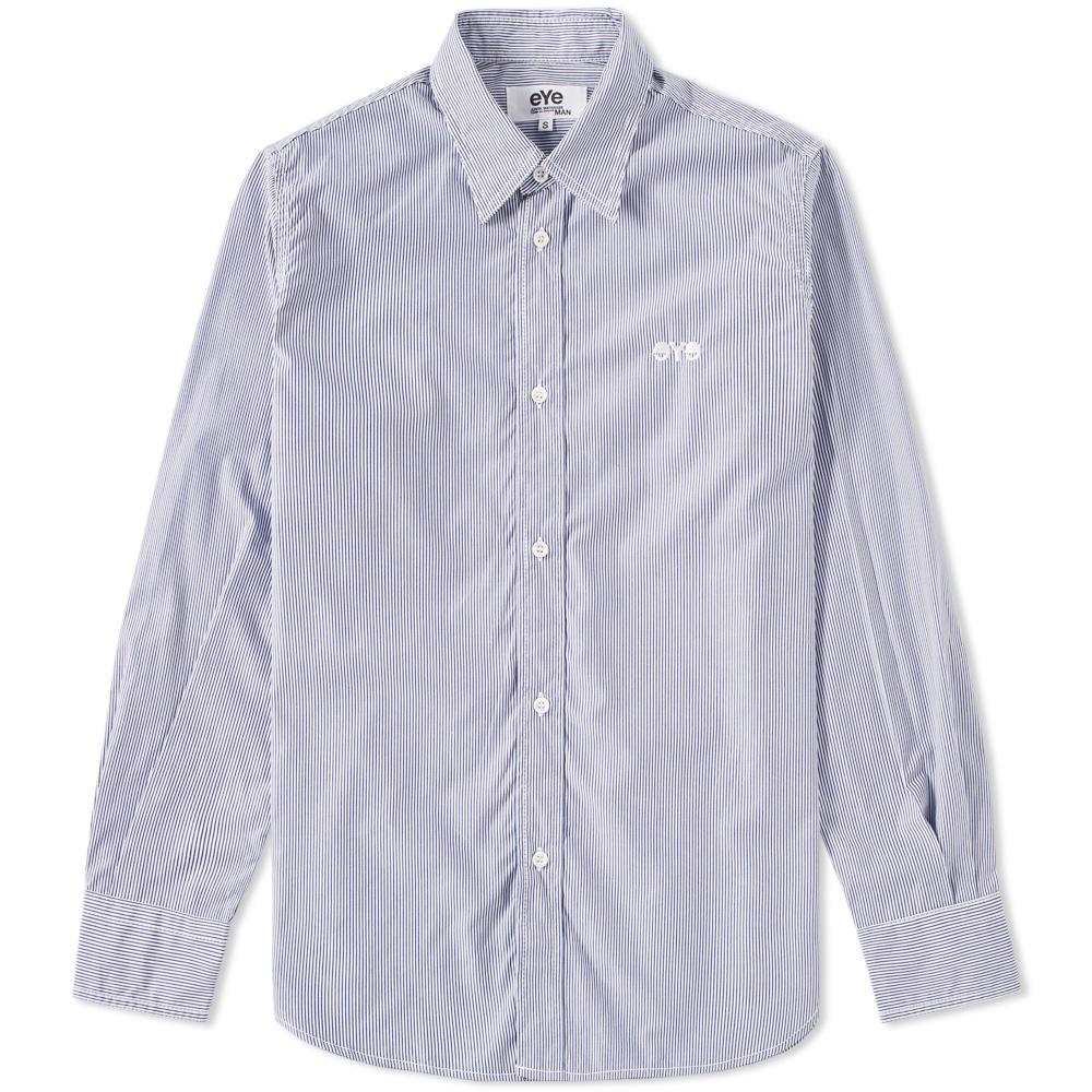 Junya Watanabe MAN eYe Stripe Logo Shirt