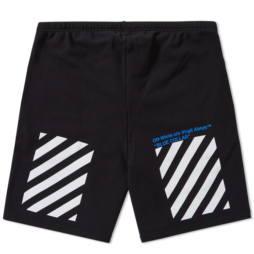 Off-White Blue Collar Short (Black)