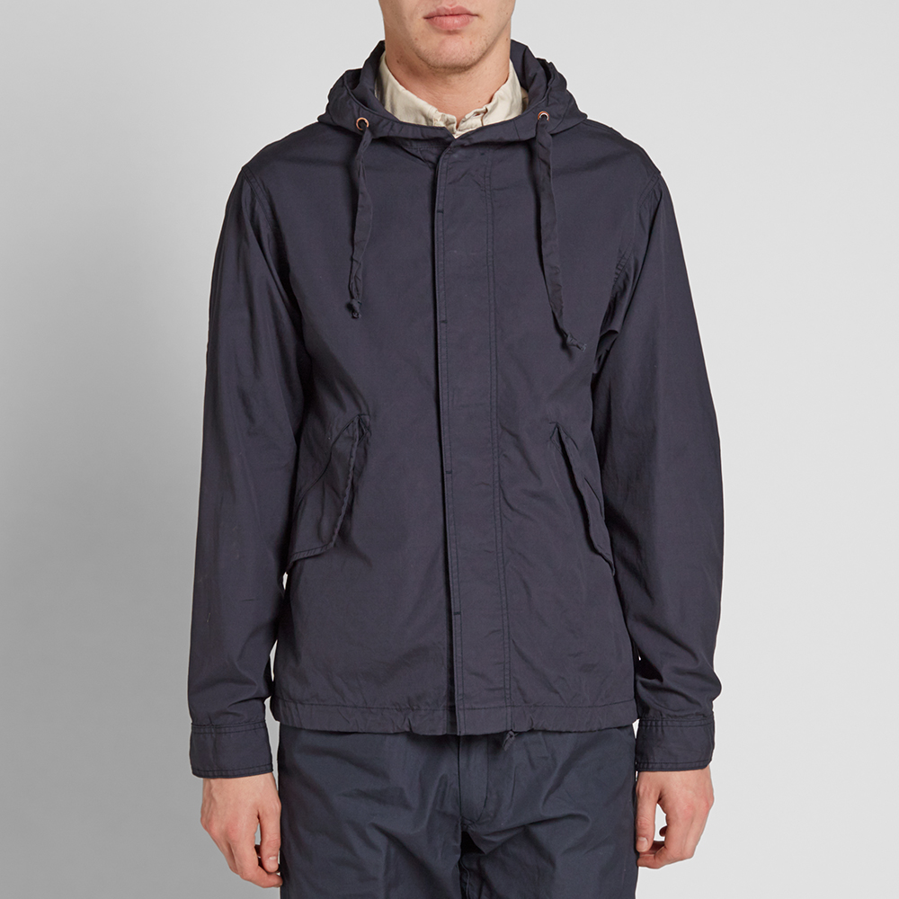 Monitaly Short Fishtail Jacket (Vancloth Navy)