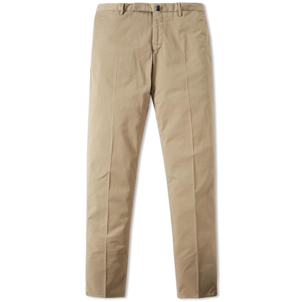 Incotex Garment Dyed Slim Fit Stretch Chino