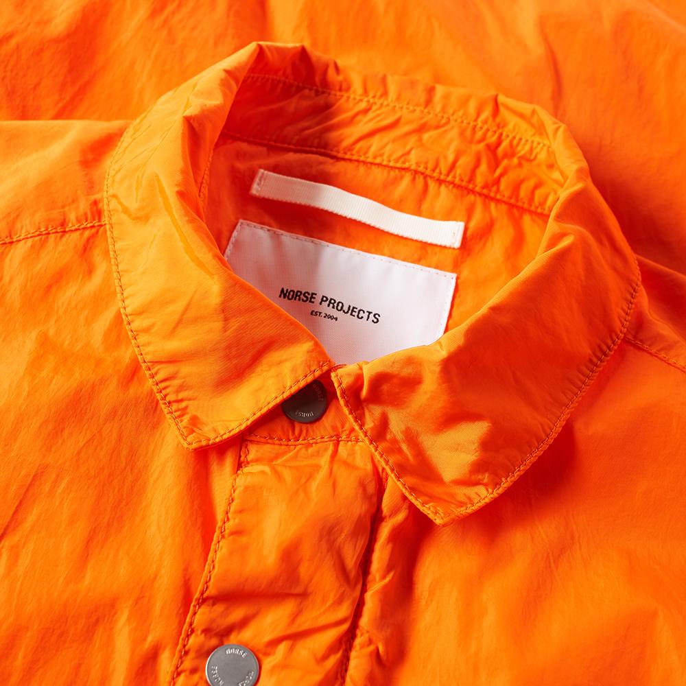 Orange Nylon Jacket 43