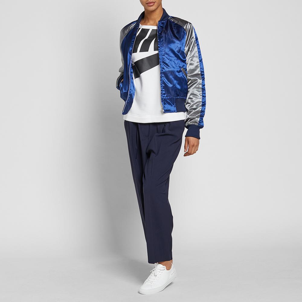 Nike w irreverent modern tee white amp black