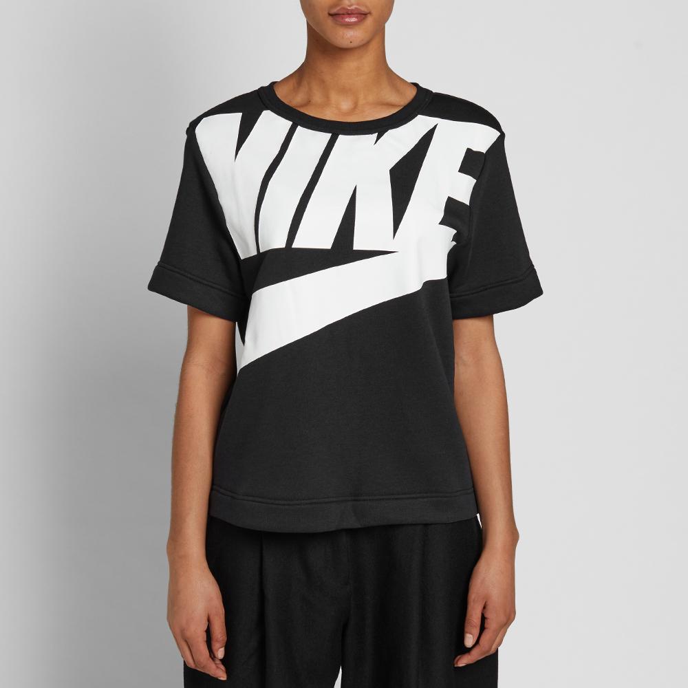 Nike w irreverent modern tee black amp white