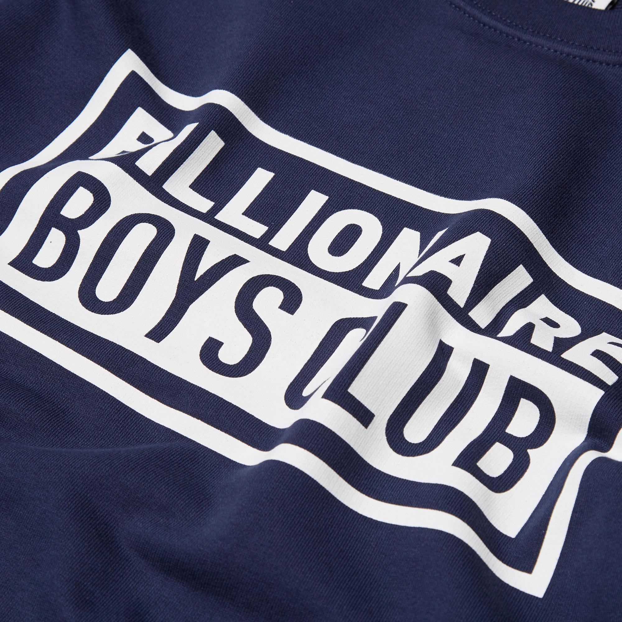billionaire boys club boxed crew sweat navy. Black Bedroom Furniture Sets. Home Design Ideas