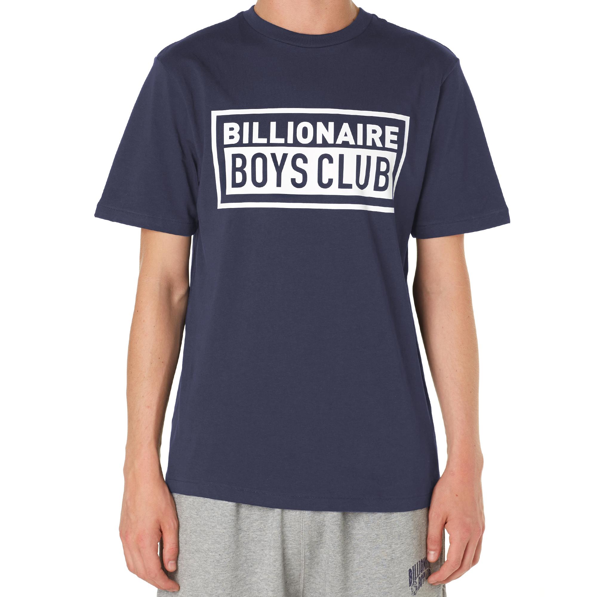 billionaire boys club box tee navy. Black Bedroom Furniture Sets. Home Design Ideas