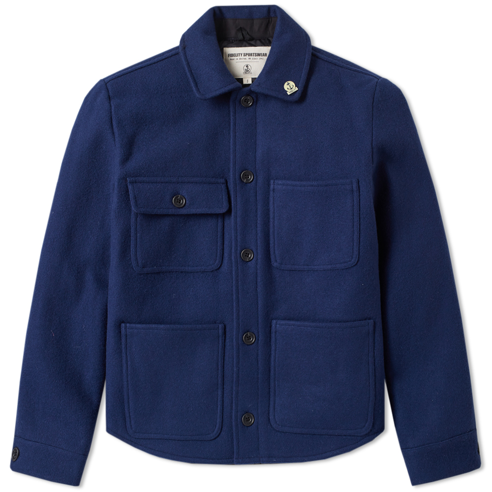 Fidelity Wool 4 Pocket Work Jacket