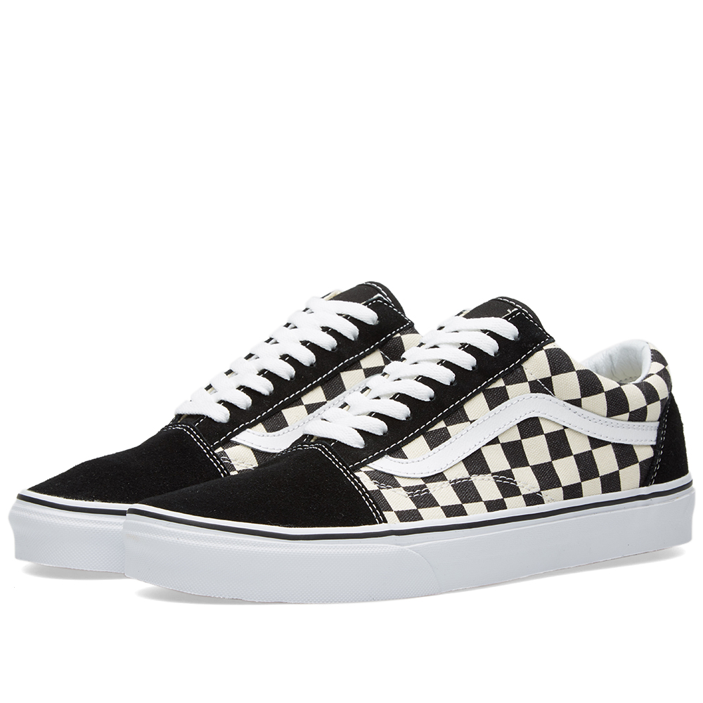vans old skool black espresso checkerboard. Black Bedroom Furniture Sets. Home Design Ideas