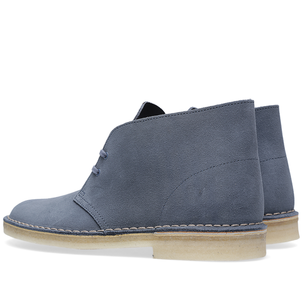 clarks originals desert boot denim suede. Black Bedroom Furniture Sets. Home Design Ideas