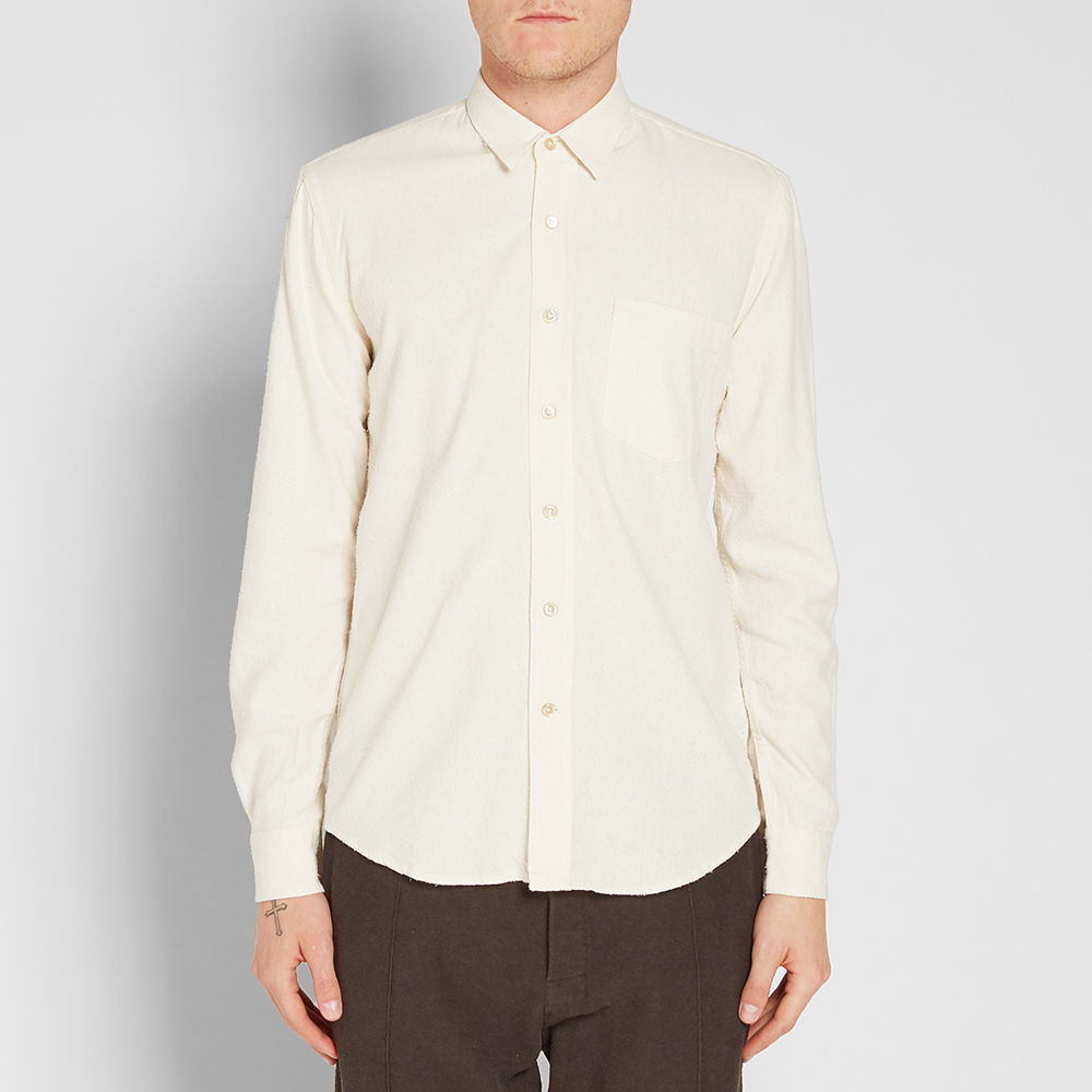 Our Legacy Everyman Classic Shirt (White Silk)