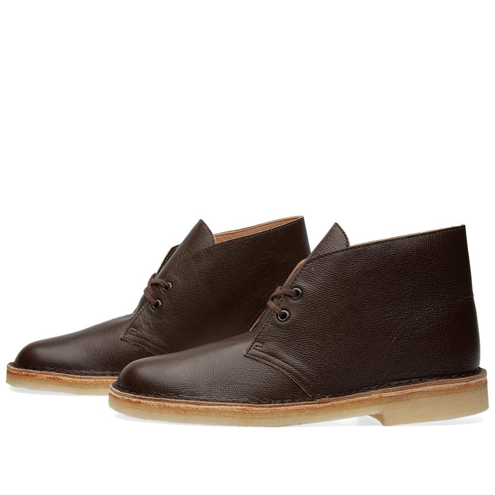clarks originals x 6876 desert boot chocolate leather. Black Bedroom Furniture Sets. Home Design Ideas