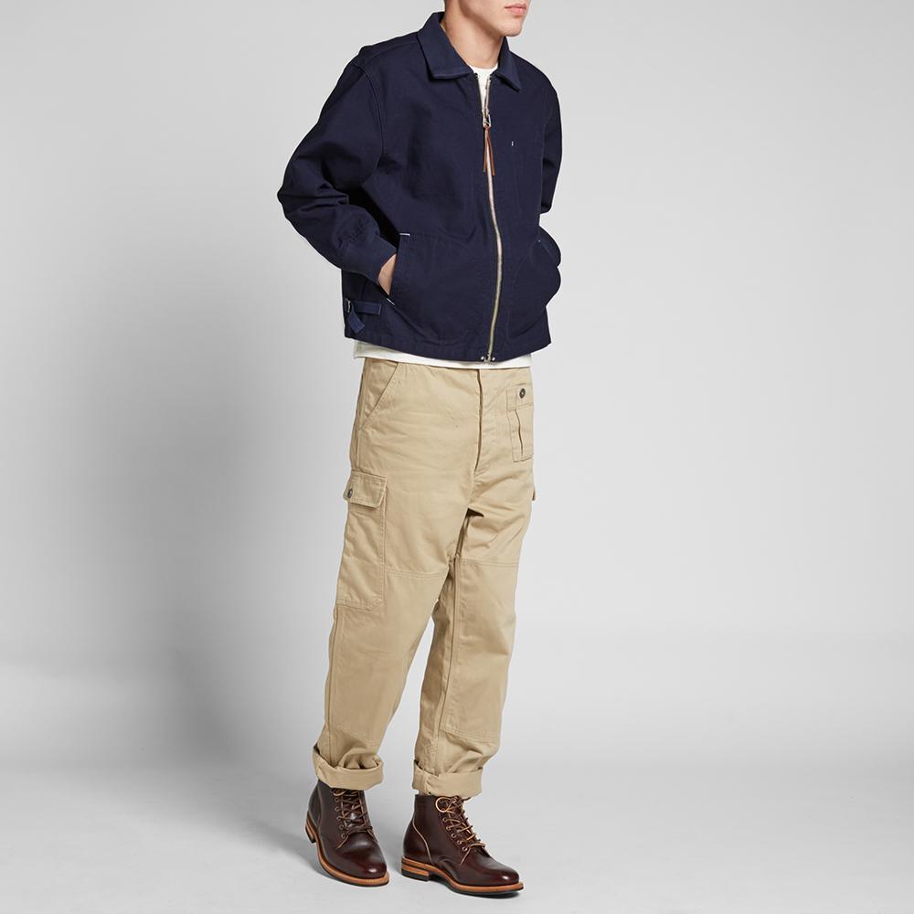 Nigel Cabourn x Lybro Short Jacket (Black Navy)