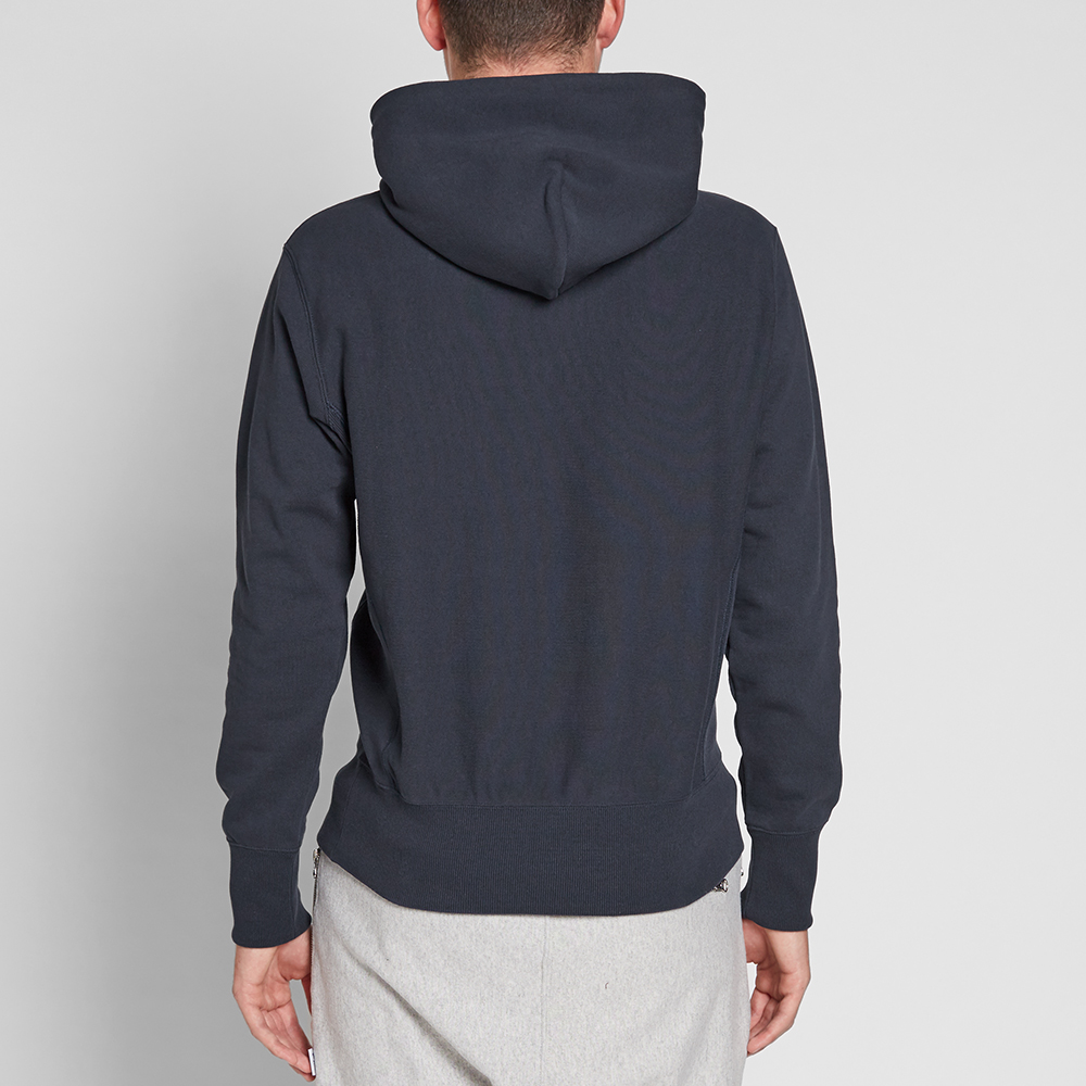 champion reverse weave classic hoody navy. Black Bedroom Furniture Sets. Home Design Ideas