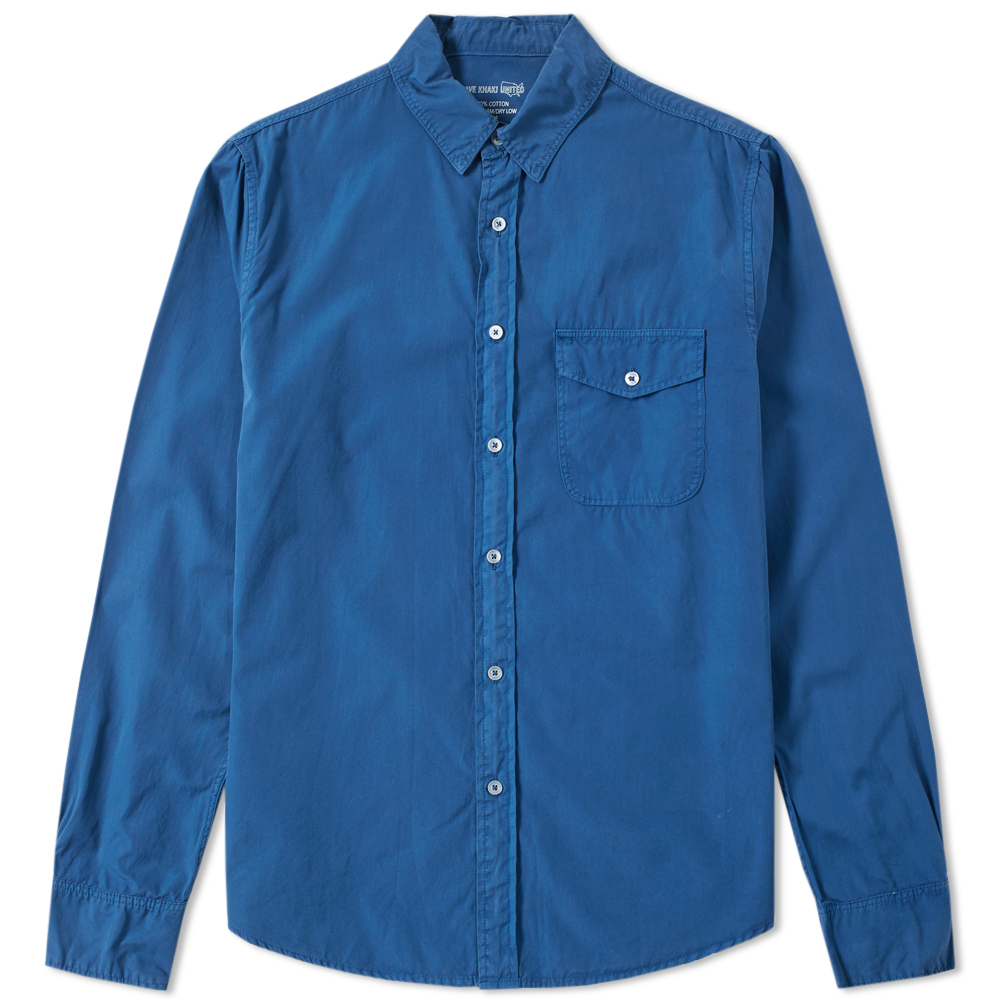 Save Khaki Chambray Work Shirt
