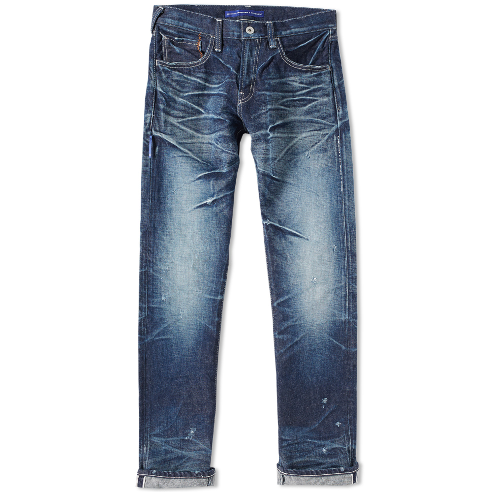 Denim by Vanquish & Fragment Three Years Regular Straight Jean