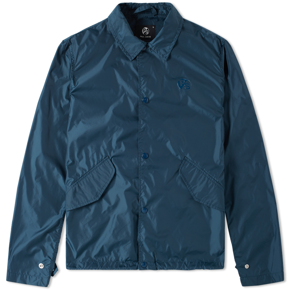 Paul smith japanese coach jacket petrol for Coach jacket