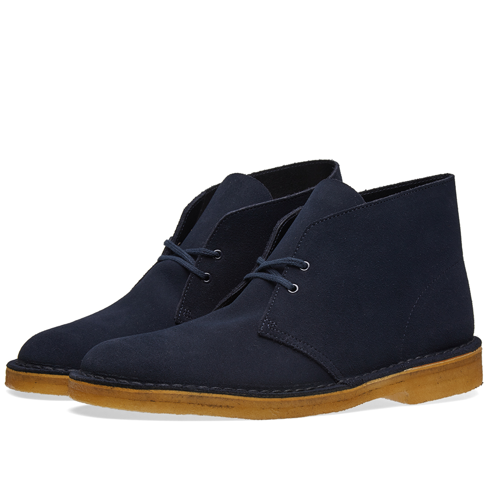 clarks originals desert boot midnight suede. Black Bedroom Furniture Sets. Home Design Ideas