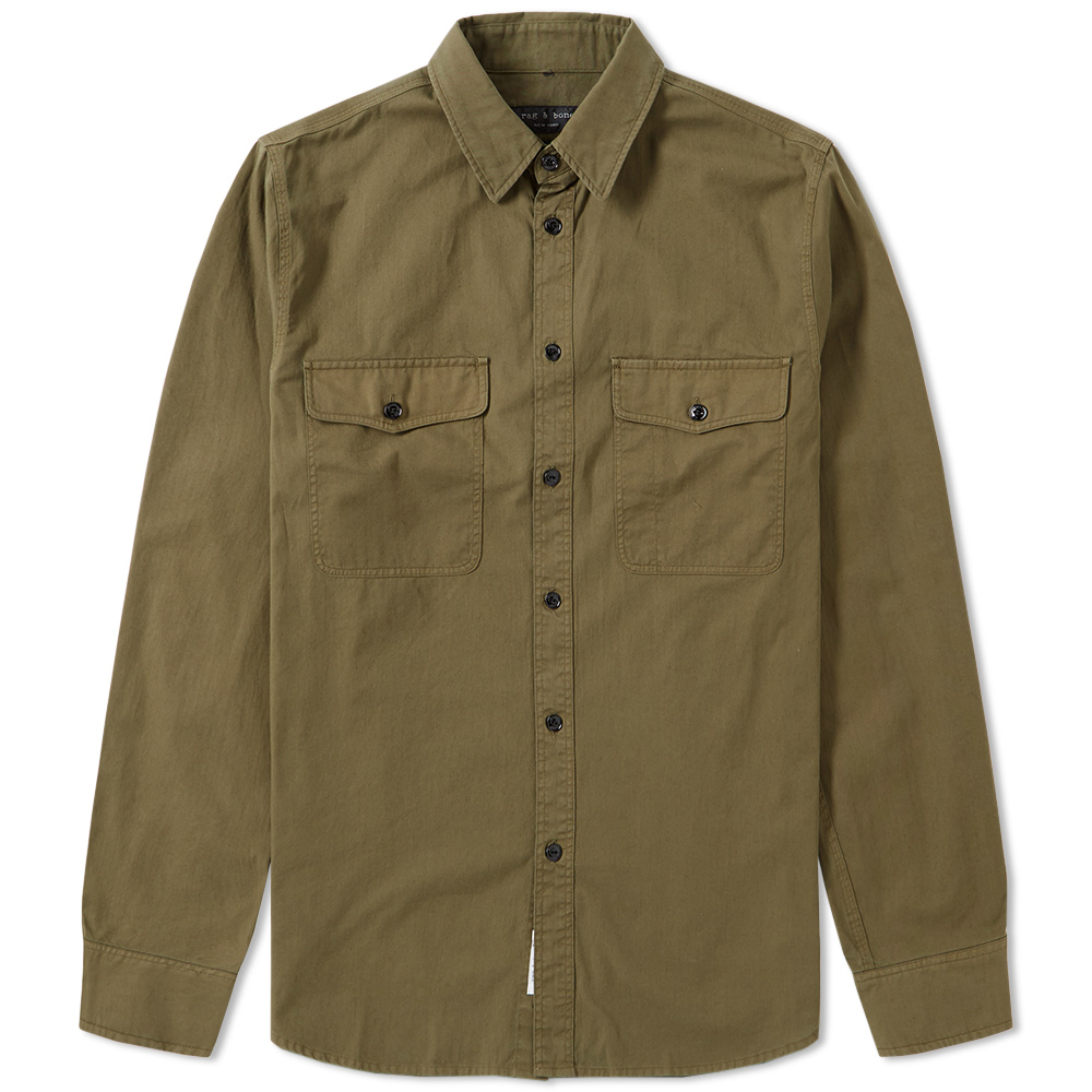 Rag & Bone Jack Twill Overshirt