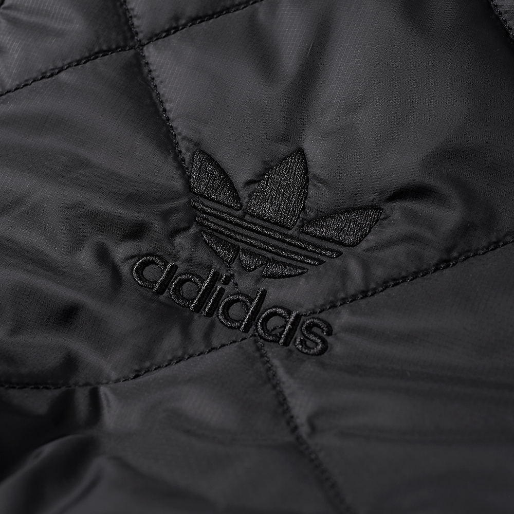 Adidas Quilted Superstar Track Top Black